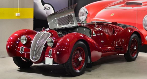 1942 Alfa Romeo 6C 2500 Series III Sport by Diamante